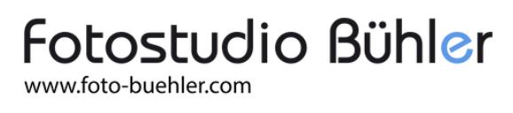Logo Fotostudio Bühler